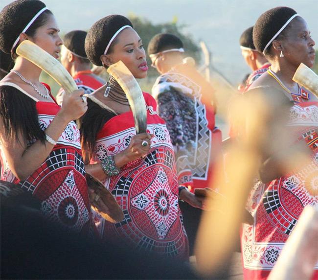 Emakhosikati at the marula festival; Image courtesy of deskgram.net