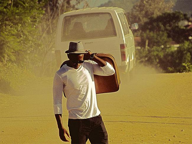 A traveller led by wanderlust